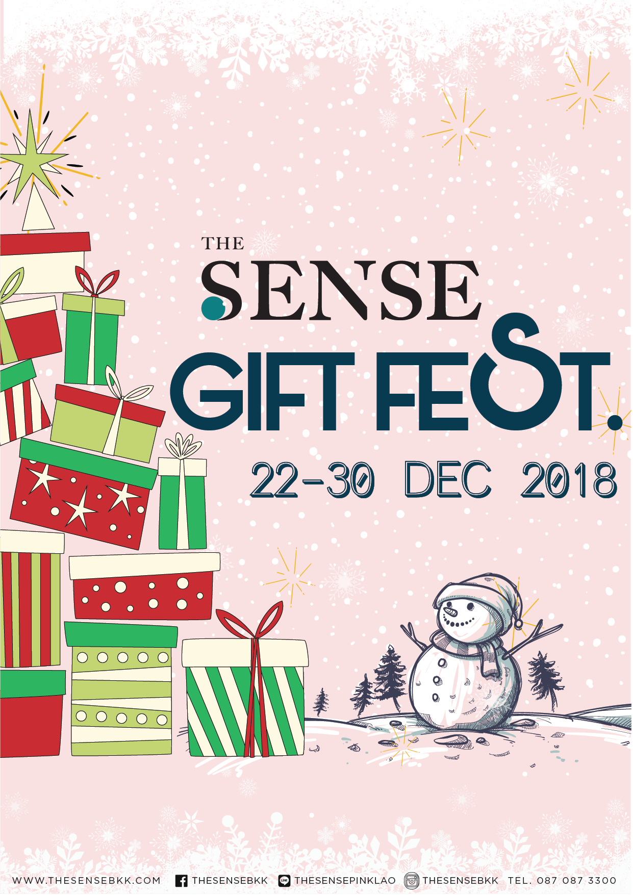 TheSense THE SENSE GIFT FEST.