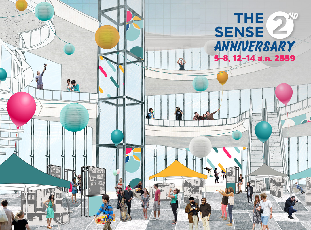 THE SENSE  2nd ANNIVERSARY